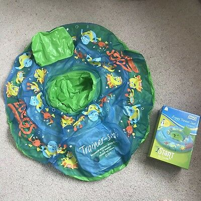 Zoggs Inflatable Swim Ring Trainer Seat Stage 1 Age 3-12 Months