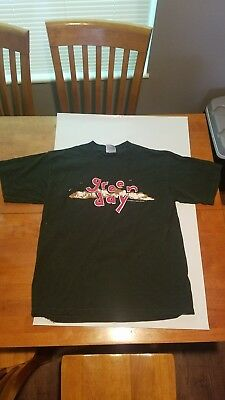 Vtg 1994 Green Day Dookie T Shirt Mens L Large Album Promo 2 Sided Punk 1990S