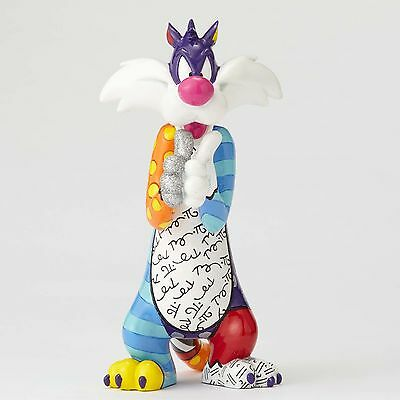 Looney Tunes By Romero Britto: Sylvester Figurine  ** New ** Gift Box