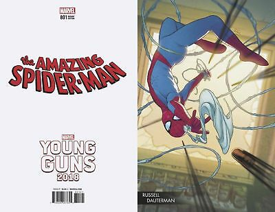 Amazing Spider-Man #801 Dauterman Young Guns Variant Nm 1St Print