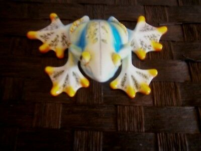 Nora Butler Artist Signed HIP HOPPER Frog~Psychedelic PAPERWEIGHT~Bling Toe Ring