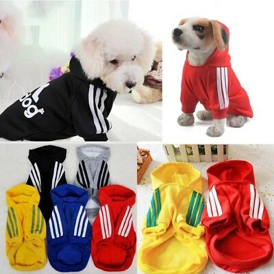 Autumn Winter Pet Dog Clothing Coat Jacket Puppy Cat Sporting Hooded Sweater
