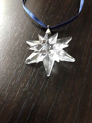 Swarovski Christmas Ornament Crystal Star