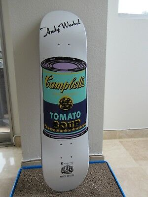 Alien Workshop Andy Warhol Campbells Soup Can Skateboard Deck Mikey Taylor