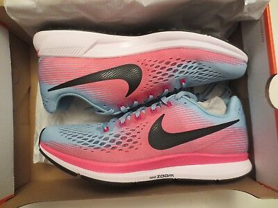 63fbb230502e4 NIKE AIR ZOOM Pegasus 34 Womens Running Shoes 880560-406 Teal Pink ...