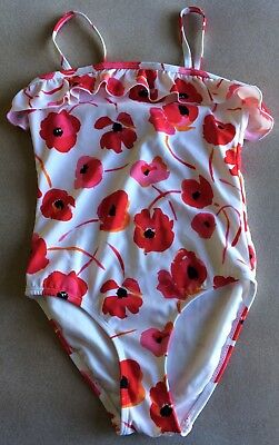 NEW NWOT Janie and Jack Girls Swimsuit Size 8 Pretty Poppies