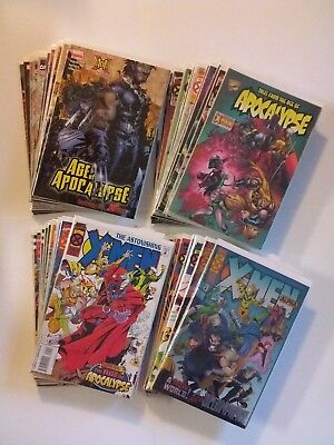 Marvel Age of Apocalypse 49 Comic Lot X-Men Weapon X 1-4 Set AoA Blink Run More