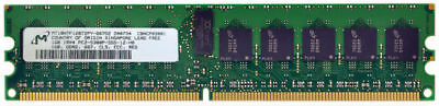 Micron - 1GB - PC2-5300 - DDR2 667MHz - ECC - MT18HTF12872PY-667D2