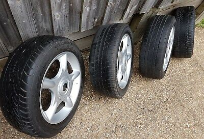 Set of 4 mini wheels and tyres, pickup Epping NSW