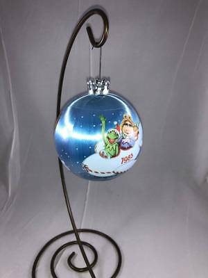 Muppets Vintage Christmas Ornament Hallmark Hot Air Balloon Skywriting 1983