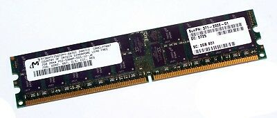 Micron - 2GB - PC2-5300 - DDR2-667 - ECC - MT36HTF25672PY-667D1