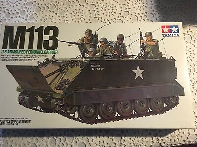 Tamiya 1/35 M113 U.S. Armoured Personnel Carrier Kit (New)