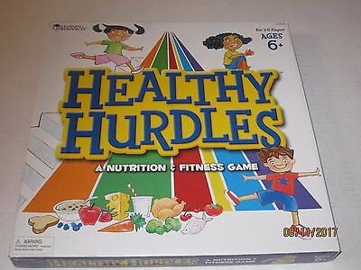 learning resources healthy hurdles nutrition fitness game health classroom jk201
