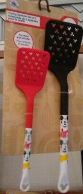 Disney Parks Eats Authentic Mickey Mouse Spatula Set of 2 NEW