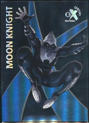 2017 Fleer Ultra Spider-Man E-X Century Trading Card #EX25 Moon Knight