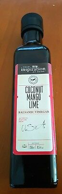Your inspiration at home Coconut Mango Lime Balsamic Vinegar 250ml - Brand New