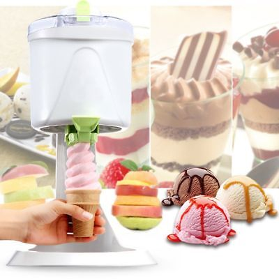 Soft Yogurt DIY Ice Cream Maker Frozen Sorbet Machine Home Restaurant For Kids