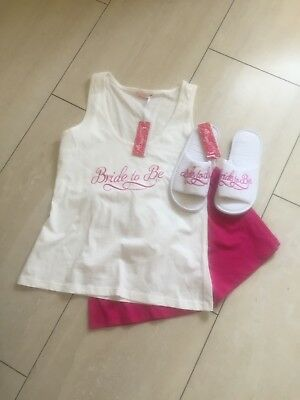 Bride To Be Pjs & Slippers