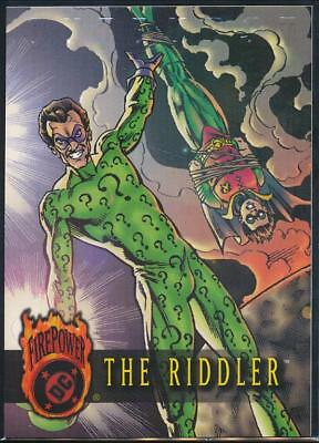 1996 DC Outburst Firepower Trading Card #43 The Riddler