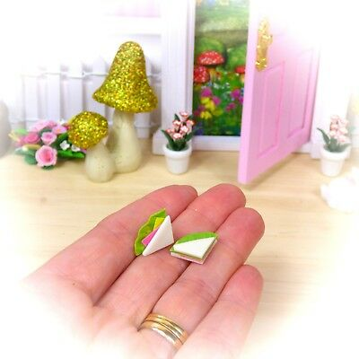 Mini FAIRY SANDWICHES 2 pieces Fairy Door Accessories Australian Owned