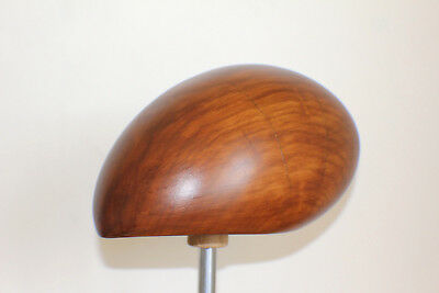 Hat Block Fascinator Form Millinery Vintage Wood - Hutform Holz