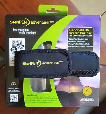 STERIPEN Adventurer Opti Water Treatment Pen New Never Used