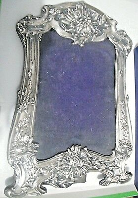 1904  Sterling Silver Picture frame