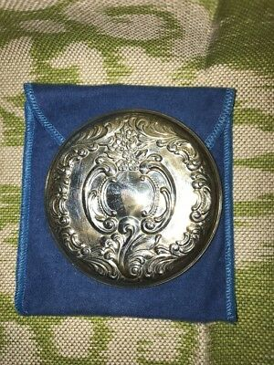 Wallace Sterling Silver Purse Dresser Vanity Mirror New
