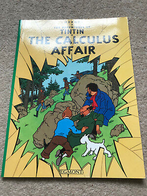 Herge Adventures Of Tintin - The Calculus Affair 2008 Paperback Vgc