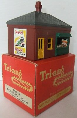 TRI-ANG HORNBY RAILWAYS R66K Porters Room with Kiosk (Boxed)              [7810]