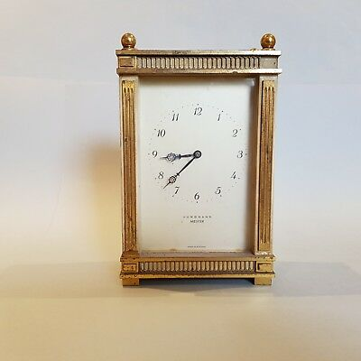 Vintage Junghans Meister Mechanical Clock - Gwo - Made In Germany - Free Postage