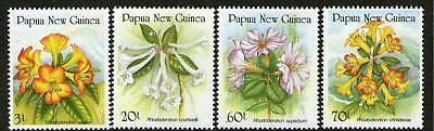 Papua New Guinea, 1989 Rhodedendrons 4 Mnh