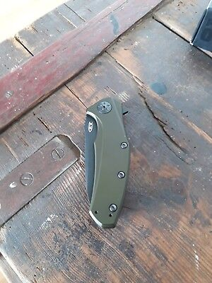 zero tolerance folder messer flipper