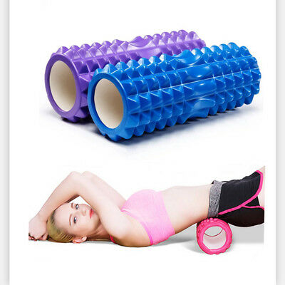EVA Foam Roller Deep Point Massage Back Muscle Roller Yoga Pilates Gym Exercise