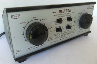 H & M Duette Controller Twin Controller with outlets for 12vDC and 16vAC (Boxed)
