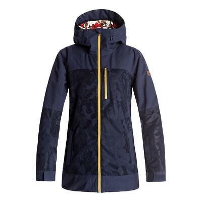 Roxy Torah Bright Stormfall Jacket 2018 in Egret, Peacoat