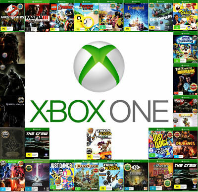 💚 Microsoft XBOX ONE ●ҩ ASSORTED GAME TITLES - Complete ҩ● Your Choice 17/06/18