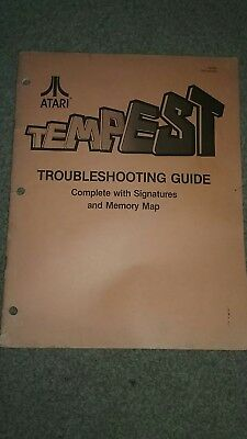 ATARI TEMPEST Troubleshooting guide OEM 14 pages
