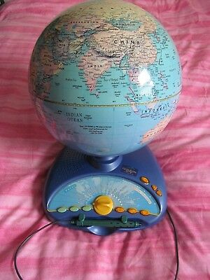 Eureke Challenge Talking Globe Explore the World comes with New Batteries