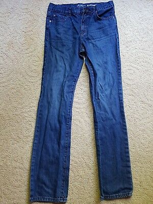 The Childrens Place Boys Straight Jeans size 16 Adjustable waist