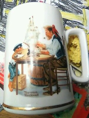 Norman Rockwell 1985 Mug For A Good Boy