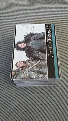 Game of thrones season 3 trading cards (98 card set)