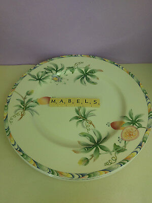 """BARRATTS  ~NATURELLE~ 12"""" extra large dinner plates chargers x 3"""