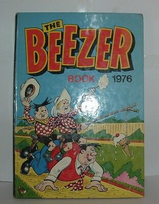 The Beezer Book Childrens Annual 1976