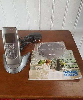 Nokia Communicator 9300 with stand/charger, software, manual & MMC
