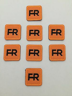 """8 fr patches - 1"""" square.  Iron on or sew on."""