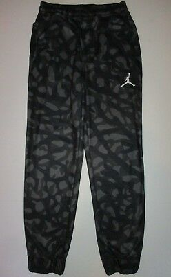 5734af1a828 NIKE JORDAN BIG Boys Therma-fit Jumpman Athletic Track Pants (M(10 ...