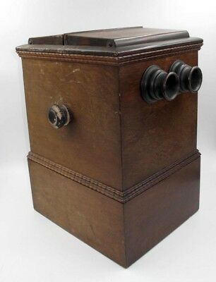 *very Rare* Beckers 1860 Sweetheart Tabletop Stereo Viewer W/views Included.