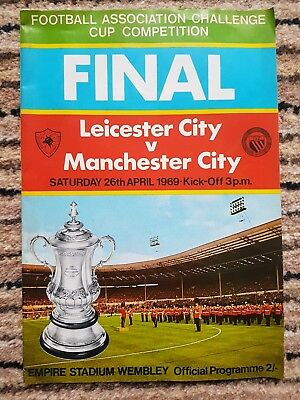 LEICESTER CITY v MANCHESTER CITY - F.A.CUP FINAL - APRIL 1969