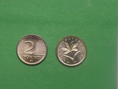 Hungary 1992 2 Forint  Uncirculated Coin